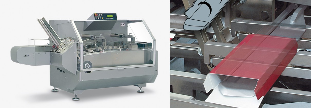 Kartonneringsmaskine PMX fra CAM